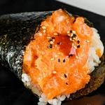 temaki spicy salmone