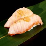 nigiri salmone yozu